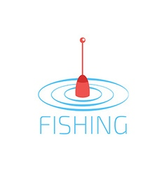 Fishing lure icon vector