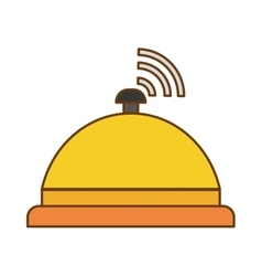 hotel services design vector image