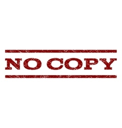 No Copy Watermark Stamp vector