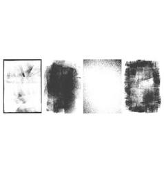 rectangular retro frames set vector image