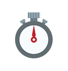 Stopwatch stop watch timer flat icon for apps and vector