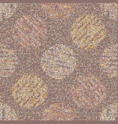 Textured dotty polka dot circle seamless pattern vector