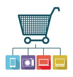 buy online icon stock vector image