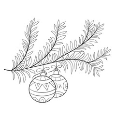 A coloring bookpage for adults and children a new vector