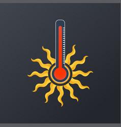 Canicule logo icon design vector