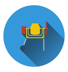 Icon of Concrete mixer vector image