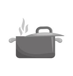 Kitchen saucepan utensil vector
