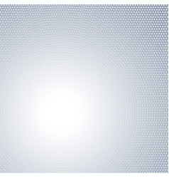light gray concentric dotted background vector image
