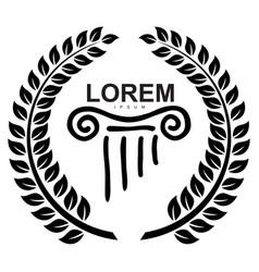 Logo drawing vector