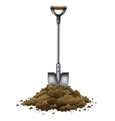 Shovel tool for gardening vector