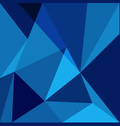 blue low poly design element background vector image