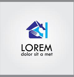 House food logo vector