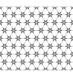 Seamless Snowflakes pattern EPS 10 vector image