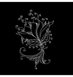 Floral pattern for your design vector image vector image