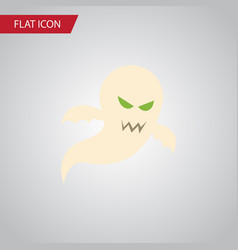 Isolated phantom flat icon ghost element vector