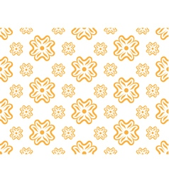 seamless wallpaper with floral pattern vector image