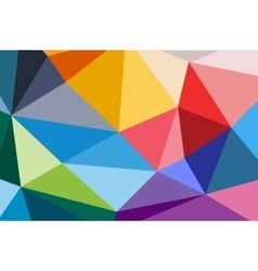 Abstract triangle technology background design vector