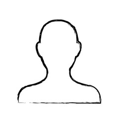 avatar people web character image vector image