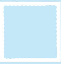 blue background in the white clouds vector image