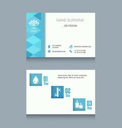 Business card template business card template vector