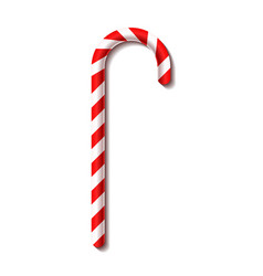 Christmas candy cane new year vector