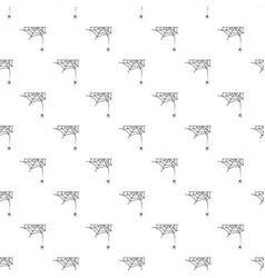Cross spider web pattern seamless vector