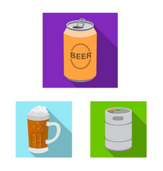 design of pub and bar symbol set of pub vector image