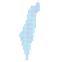 Freeze israel map vector