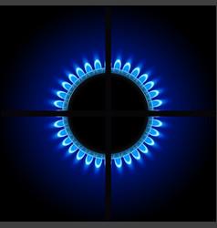 gas3 in dark vector image