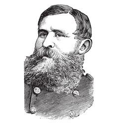 General george crook vintage vector