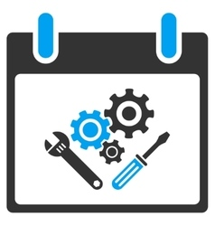 Instrument Tools Calendar Day Toolbar Icon vector