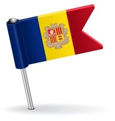 Moldova pin icon flag vector