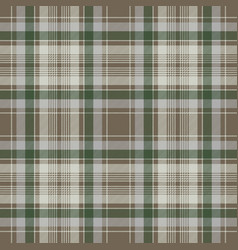 pastel color check plaid seamless pattern vector image