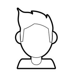 Person profile player vector