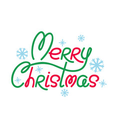retro banner for christmas vector image