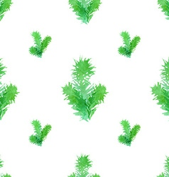 Seamless Christmas tree pattern vector