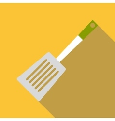 Spatula for cooking icon flat style vector