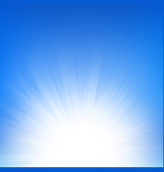 sunbeam vector image