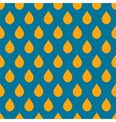 Blue Orange Water Drops Background vector image vector image