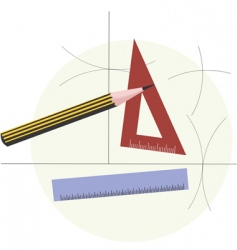 graphic tools vector image vector image