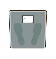 Weight scale measuring loss image vector