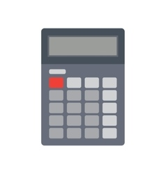 Calculator flat vector
