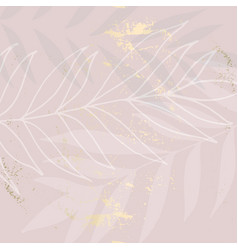 chic trendy shiny feminine tile pattern vector image