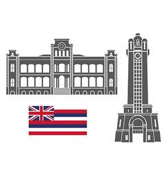 Hawaii vector image