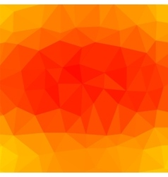 Mosaic Orange Background vector