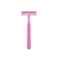 pink woman razor icon flat style vector image