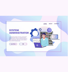 Professional occupation flat vector