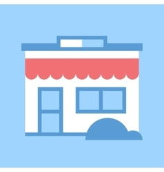 Store icon vector