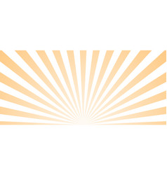 Sun ray retro background burst light vector