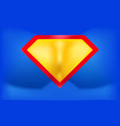 superhero logo template background in the form of vector image